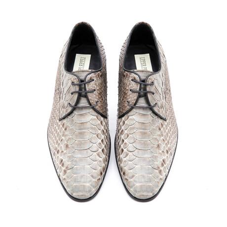 Men's AK87 Shoes // Ecru + Mink (Euro: 40)