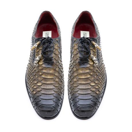Men's AK109 Shoes // Black + Brown (Euro: 40)