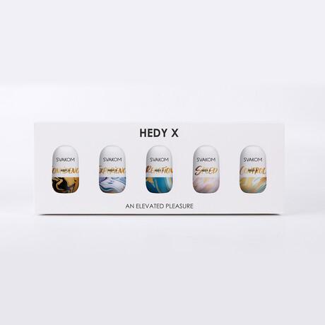 Hedy X // 5 Piece Sleeve Set (Confidence)