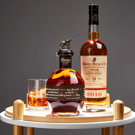Single Barrel Black Label Edition Bourbon + Ardlair 9 Year Scotch // 750 ml Each
