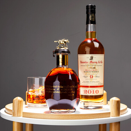 Gold Label + Ardlair 9 Year Scotch