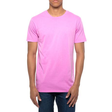 Pigment Dye T-Shirt // Pink (XS)