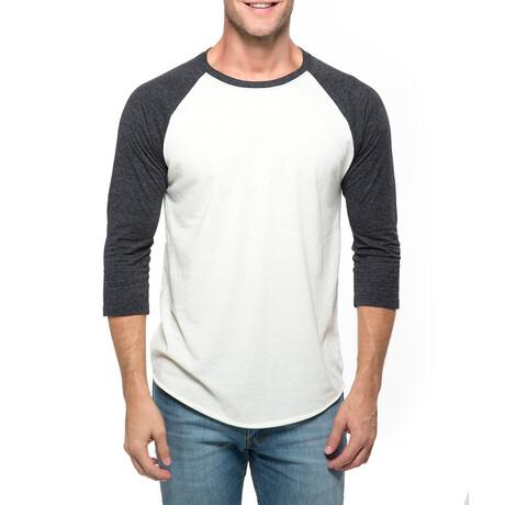 Raglan T-Shirt // Cream + Black (XS)