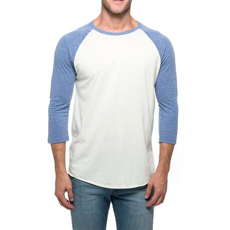 Raglan T-Shirt // Cream + Navy (XS)