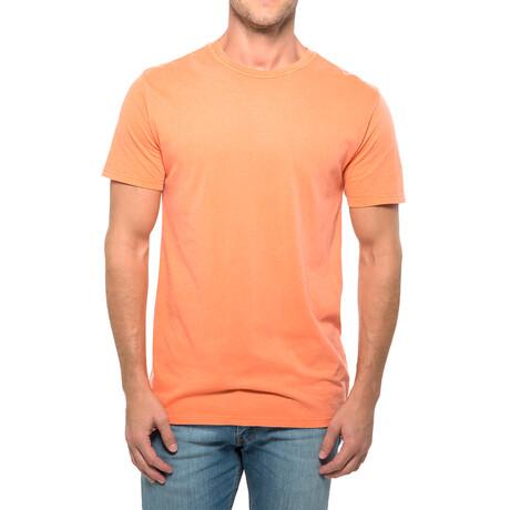 Pigment Dye T-Shirt // Tangerine (XS)