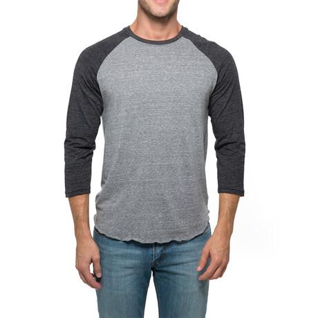 Raglan T-Shirt // Gray + Black (XS)