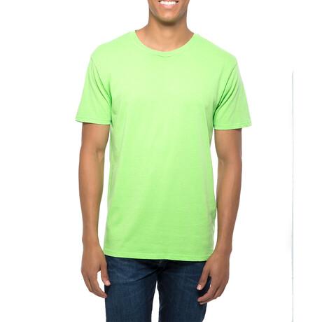 Pigment Dye T-Shirt // Lime (XS)