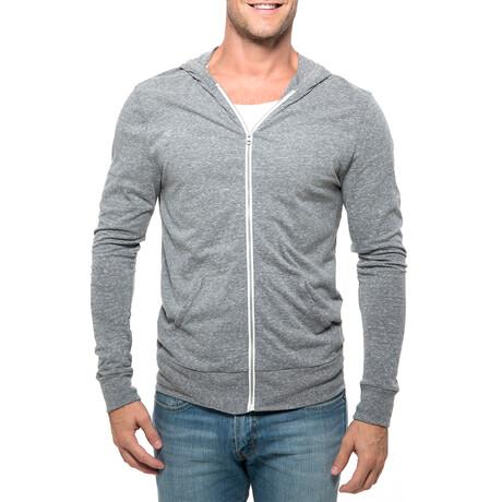 College Point Full-Zip Hoodie // Gray (XS)