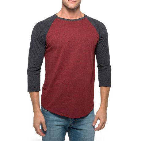 Raglan T-Shirt // Cardinal Black + Black (XS)