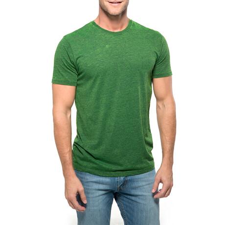 Chelsea Cross Dyed T-Shirt // Emerald (XS)