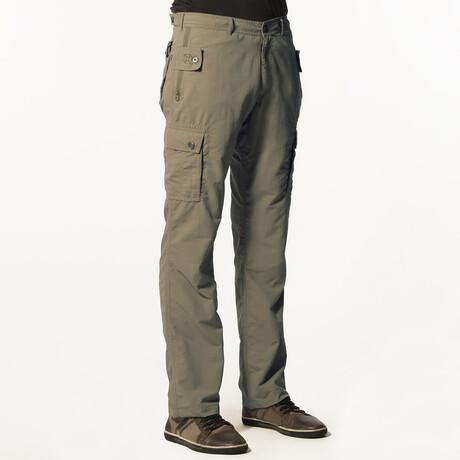 Pick-Pocket Proof® Adventure Travel Pants // Green (32W x 30L)