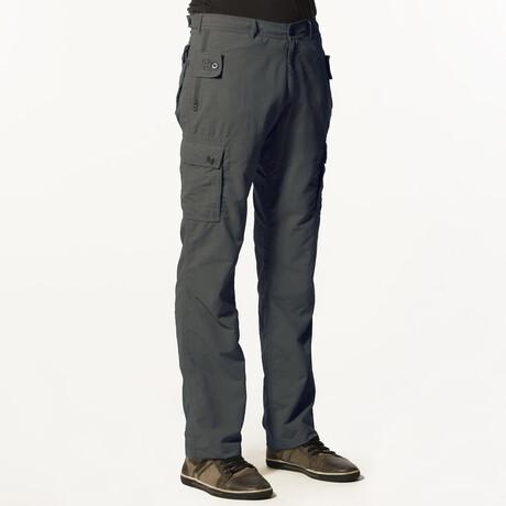 Pick-Pocket Proof® Adventure Travel Pants // Gray (32W x 30L)