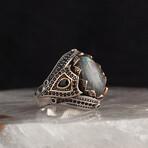 Real Labradorite Ring (10)