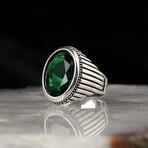Elegant Lab Emerald Ring (9)