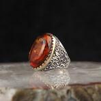 Large Amber Ring (8)
