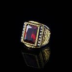 Outstanding Garnet Ring (6)