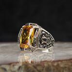 Emerald Cut Citrine Ring (9)