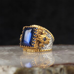 Lab Sapphire Ring (7)