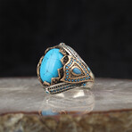Exclusive Turquoise Ring (7.5)