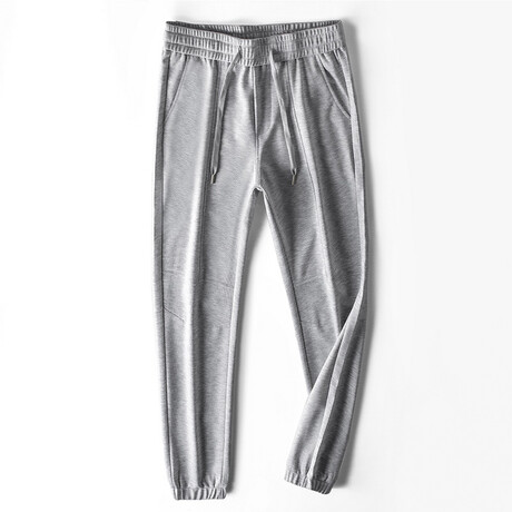 Maxwell Trousers // Light Gray (S)