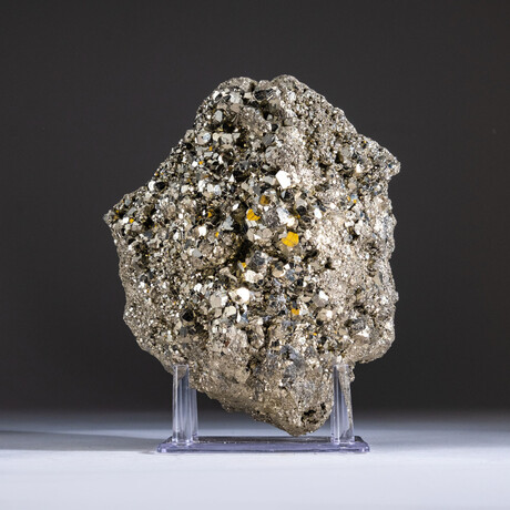 Genuine Pyrite Crystal Cluster