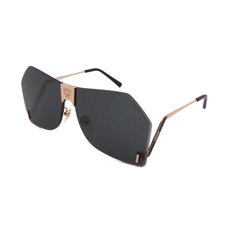 MCM // Unisex 135S-738 Sunglasses // Gold + Green