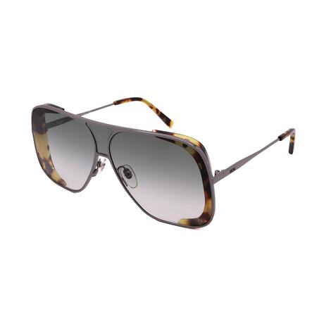 MCM // Men's 142S-69 Sunglasses // Dark Ruthenium