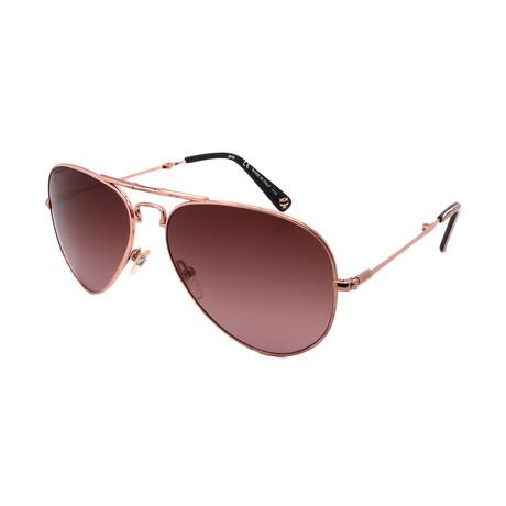 MCM // Unisex 101S-780 Sunglasses // Rose Gold