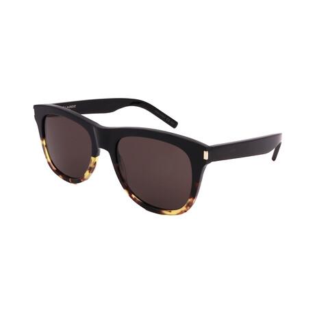 Yves Saint Laurent // Unisex SL51-008 Sunglasses // Black + Havana