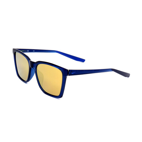 Nike // Men's Bout Sunglasses // Midnight Navy + Brown