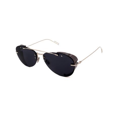 Men's DIOR-CHROMA Square Sunglasses // Palladium