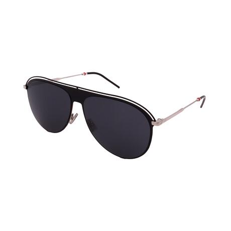 Men's DIOR-217S-CSA Aviator Sunglasses // Black + Palladium
