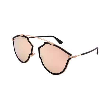 Unisex DIOR-SOREAL-RISE-2M2 Sunglasses // Black + Gold