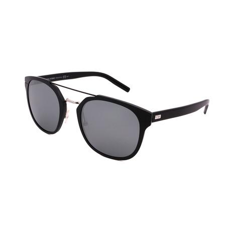 Men's AL-13.5F-GQX Pilot Sunglasses // Black + Alluminum