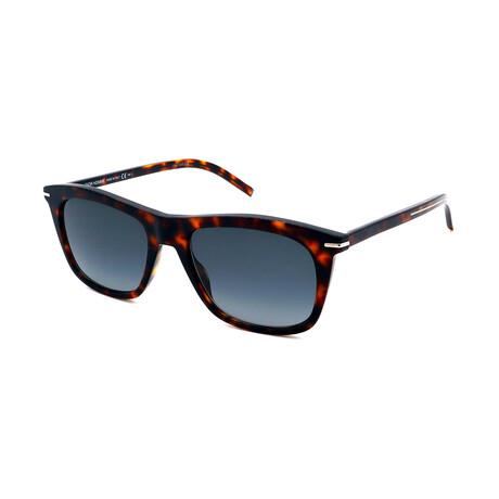 Men's BLACK-TIE-268S-86 Square Sunglasses // Havana
