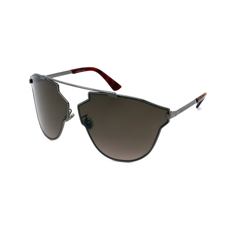 Unisex SO-REAL-FASTKJ1 Aviator Sunglasses // Ruthenium