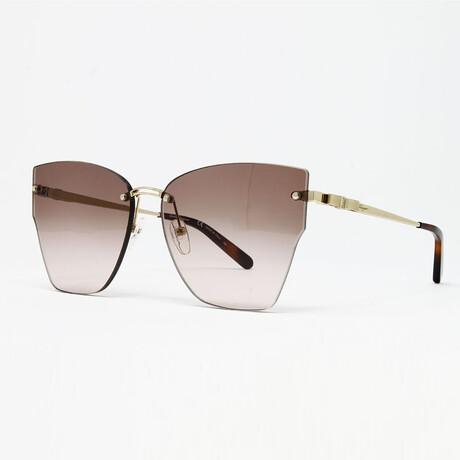 Women's SF223S Sunglasses // Gold Brown