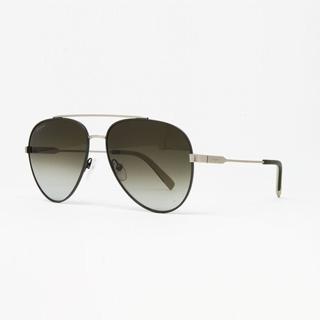 Men's SF204S Sunglasses // Forrest Green + Matte Gold