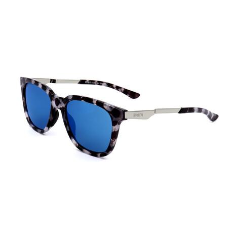 Smith // Unisex Roam Sunglasses // Rutehnium + Havana + Blue