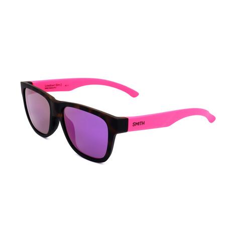 Smith // Unisex Lowdown Sunglasses // Matte Violet + Dark Havana