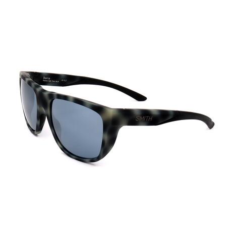 Smith // Men's Polarized Barra Sunglasses // Matte Gray + Havana