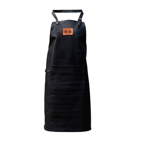 Classic 100% Leather Apron // Black