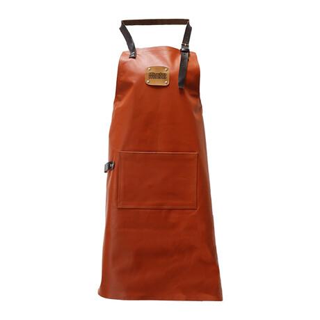Classic 100% Leather Apron // Cognac