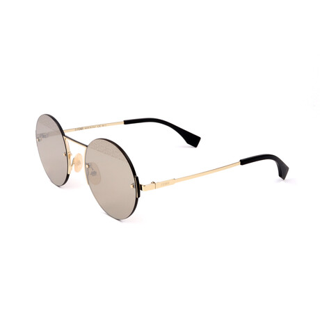 Men's M0058-S-J5G Sunglasses // Gold