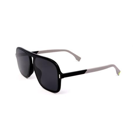 Men's M0066-F-S-807 Sunglasses // Black