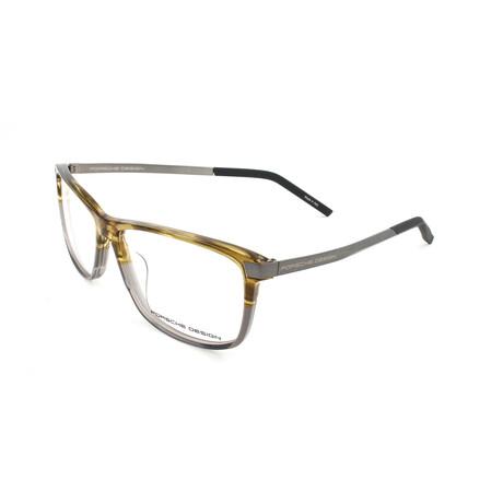 Porsche Design // Unisex P8319-D Optical Frames // Brown + Gray