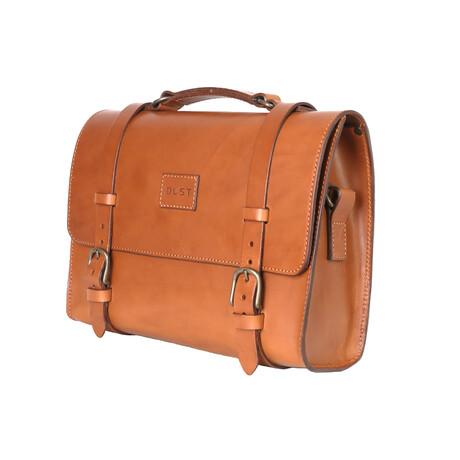 Briefcase // Brown