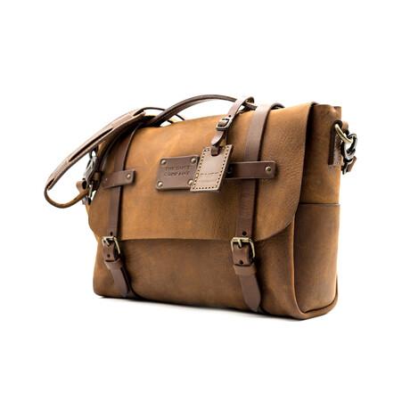 Messenger Bag // Heritage Brown