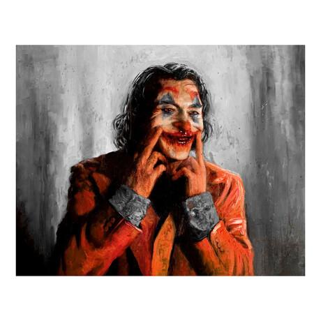 """Smile // Joker (12""""W x 9""""H)"""