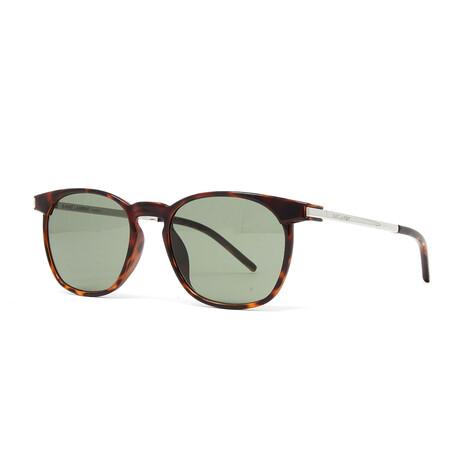 Yves Saint Laurent // Men's SL240 Sunglasses // Havana + Silver